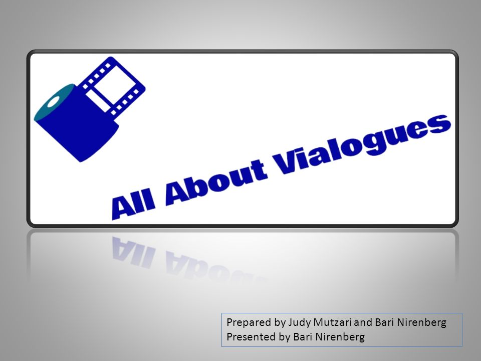 Vialogues – Video Dialogues An interactive synchronous/non-synchronous platform for discussions based on videos Excellent for JH & HS