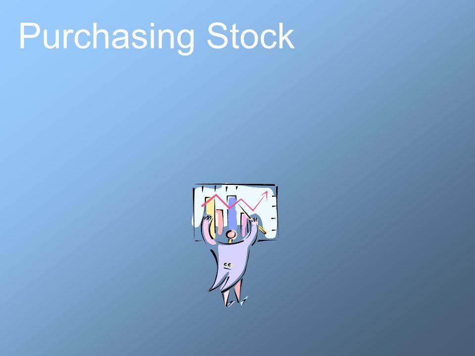 Purchasing Stock
