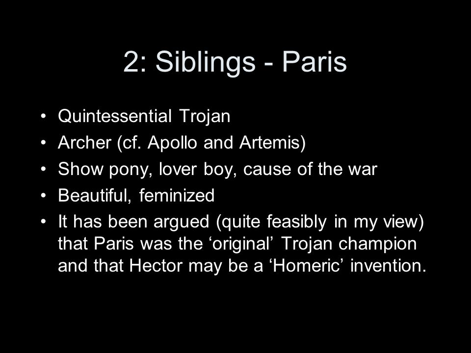 2: Siblings and weaponry 116-18.