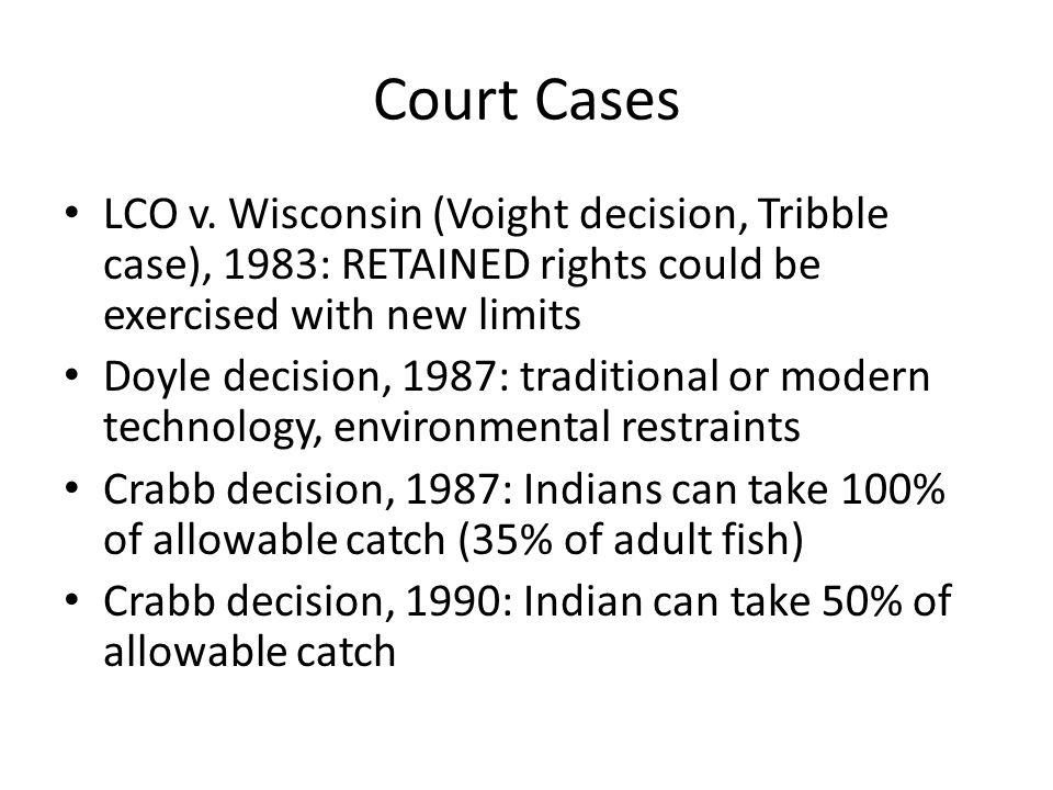 Court Cases LCO v.