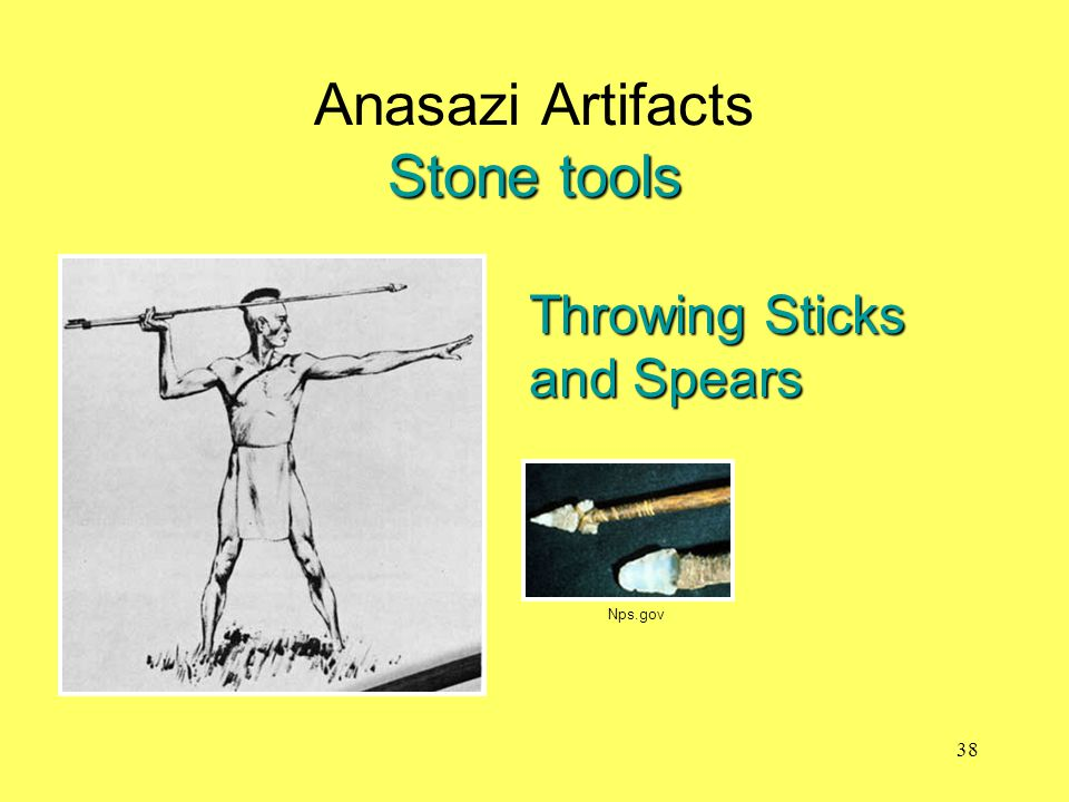 Stone tools Anasazi Artifacts Stone tools Throwing Sticks and Spears Nps.gov 38