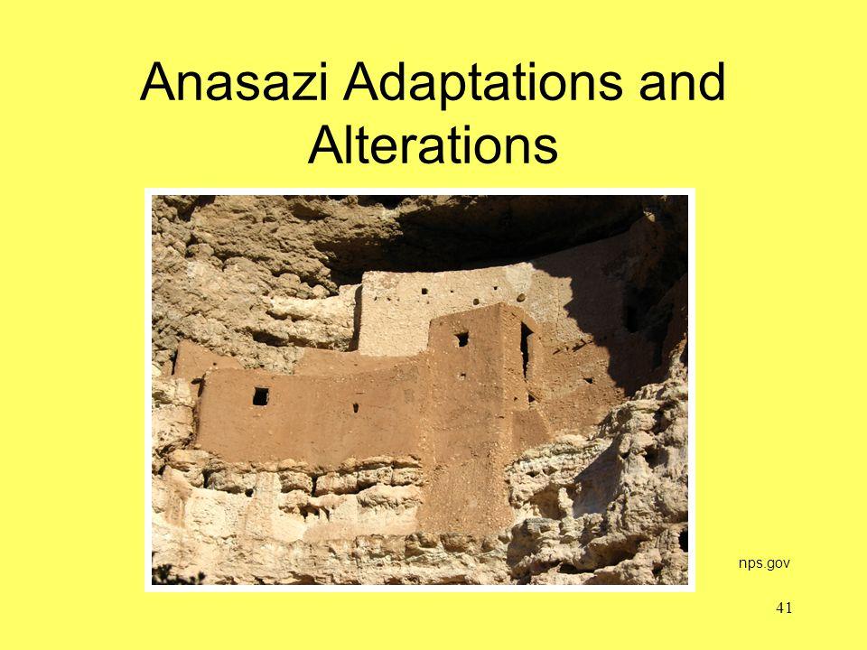 Anasazi Adaptations and Alterations nps.gov 41