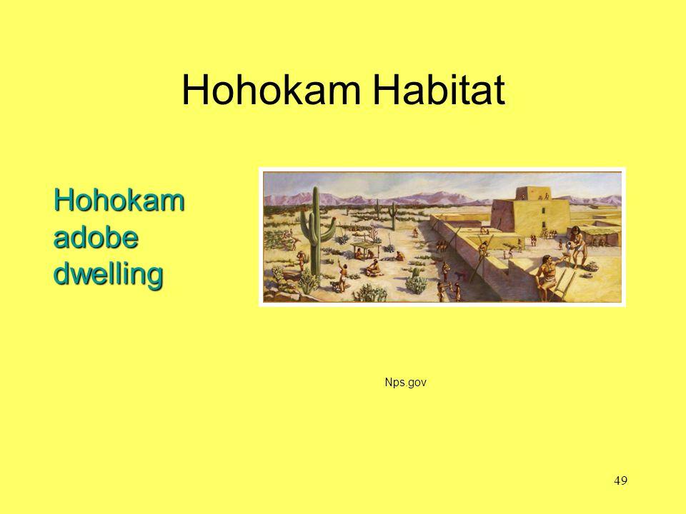 Hohokam Habitat Nps.gov Hohokam adobe dwelling 49