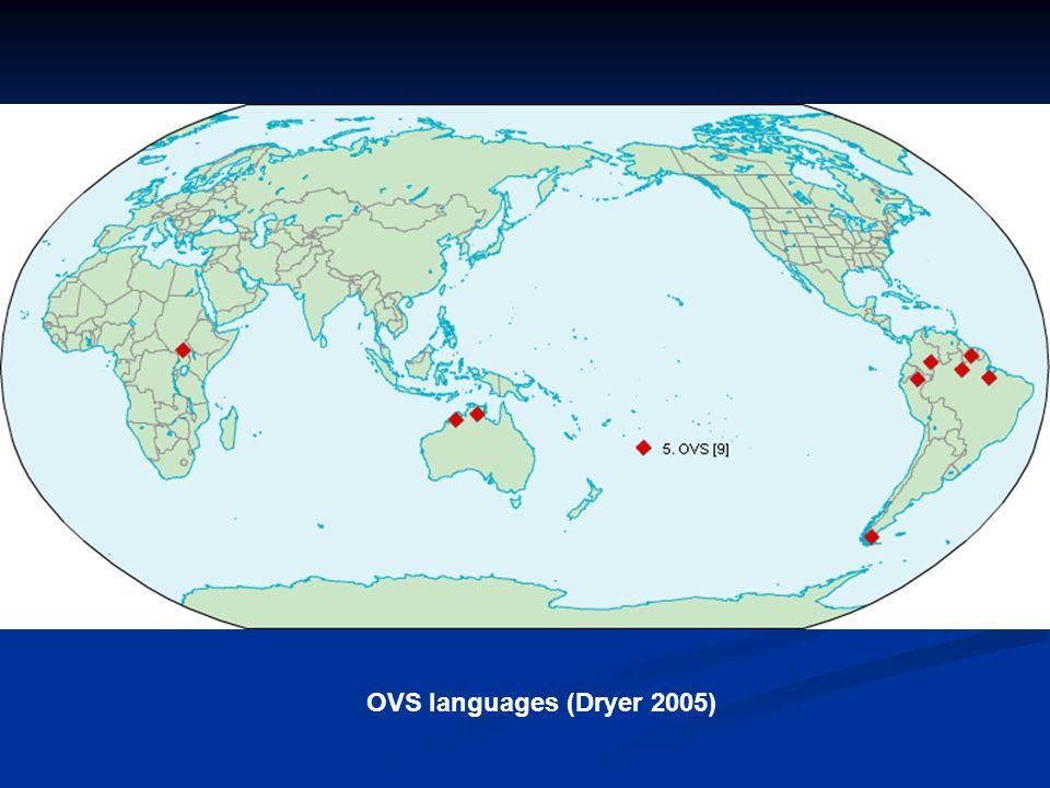 OVS languages (Dryer 2005)