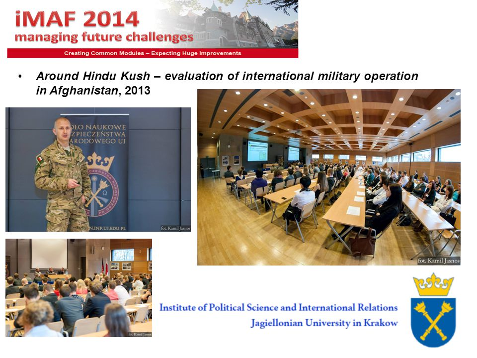 6 Around Hindu Kush – evaluation of international military operation in Afghanistan, 2013