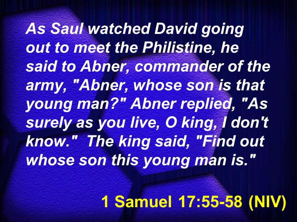 2 Samuel 1:17-18 (NLT) Then David composed a funeral song for Saul and Jonathan, and he commanded that it be taught to the people of Judah.