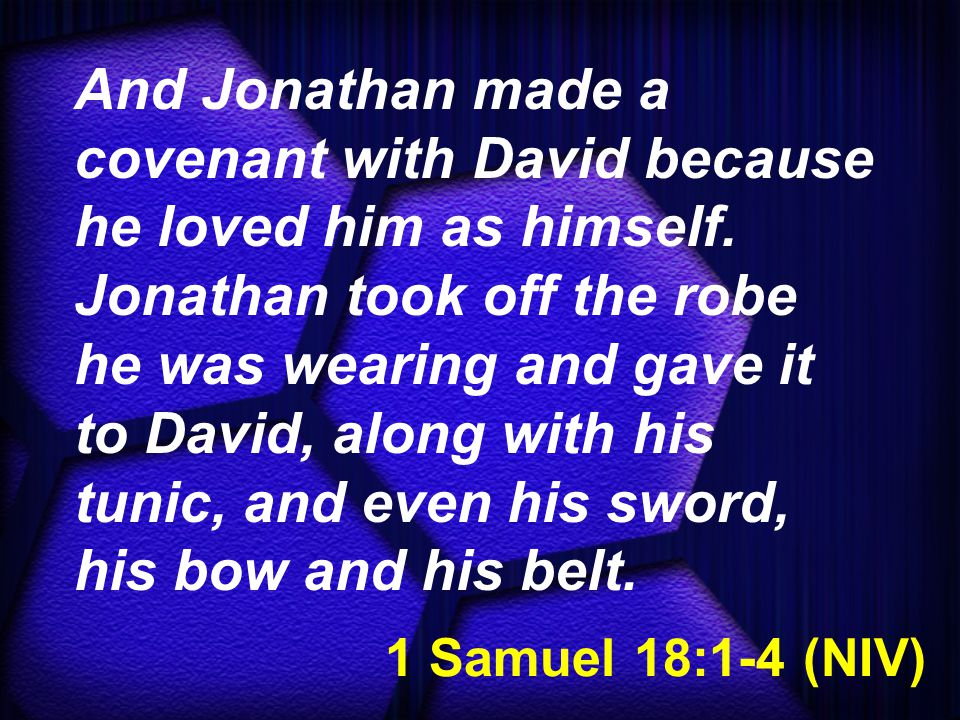1 Samuel 18:5-7 (NIV) Whatever Saul sent him to do, David did it so successfully that Saul gave him a high rank in the army.