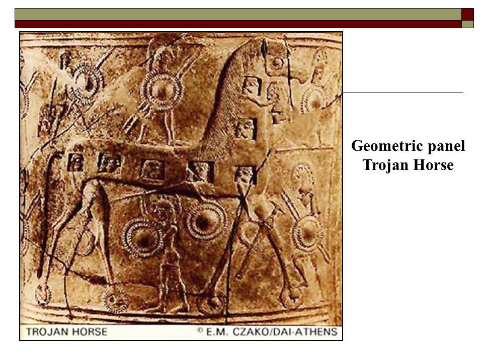 Geometric panel Trojan Horse