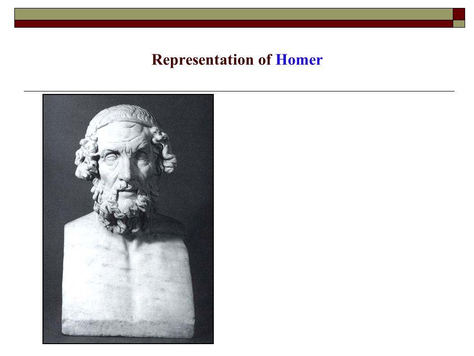Representation of Homer