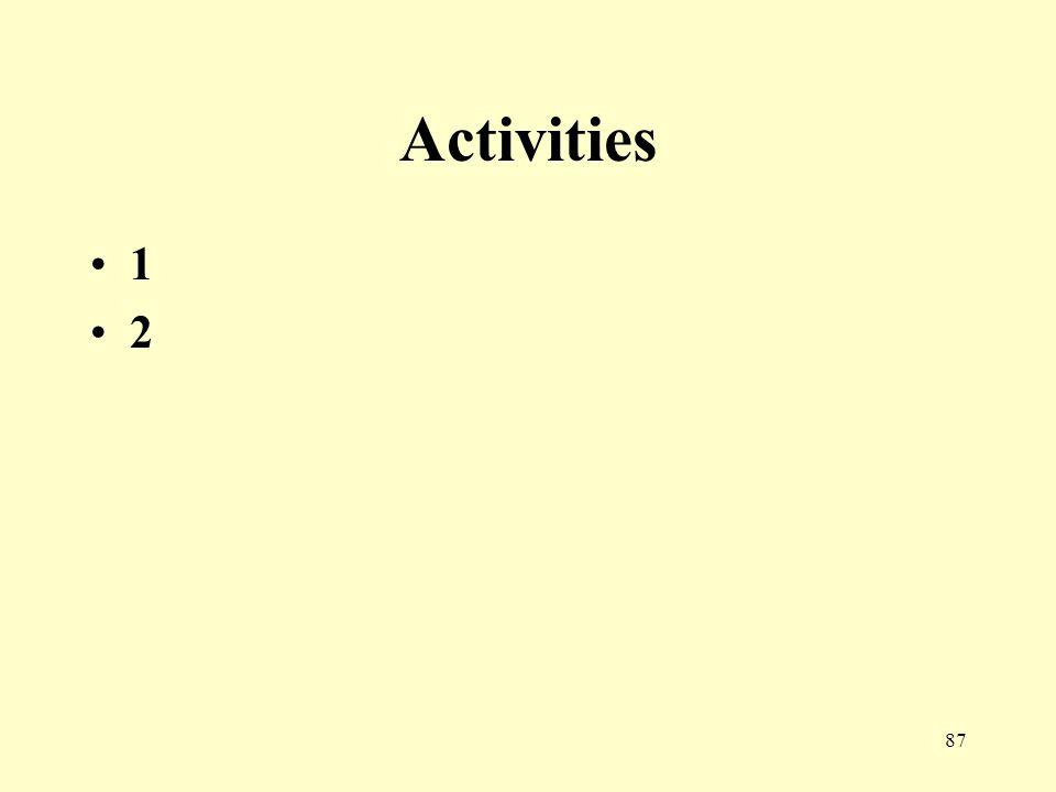 87 Activities 1 2