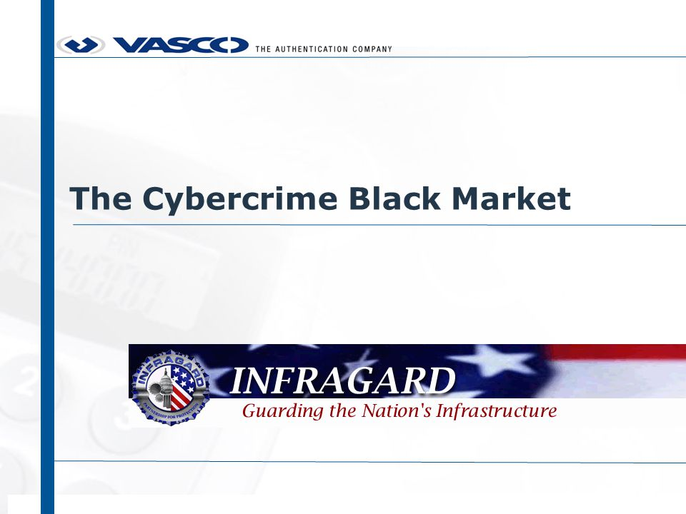 The Cybercrime Black Market