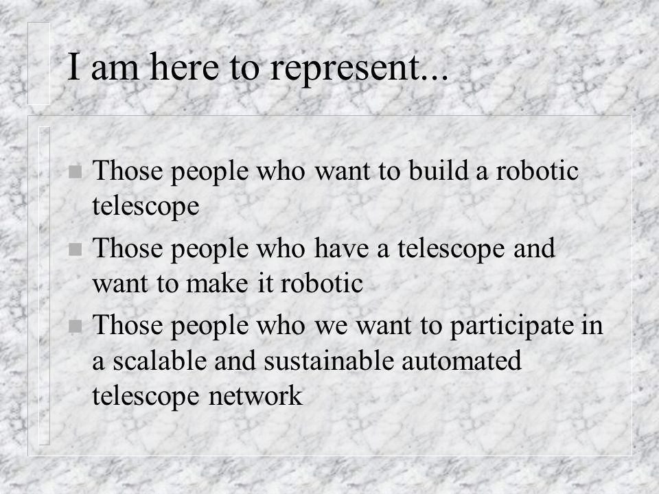 What is a robotic telescope.