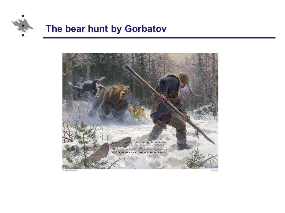 The bear hunt by Gorbatov
