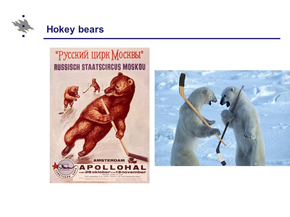 Hokey bears