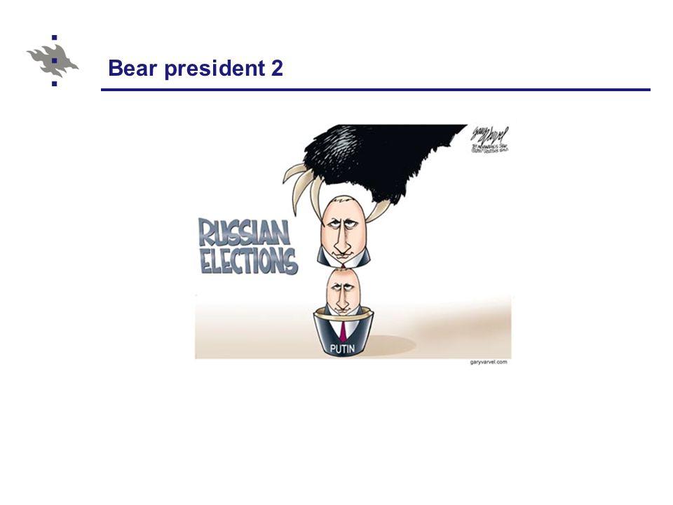 Bear president 2