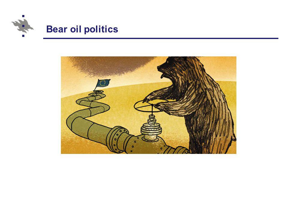 Bear oil politics