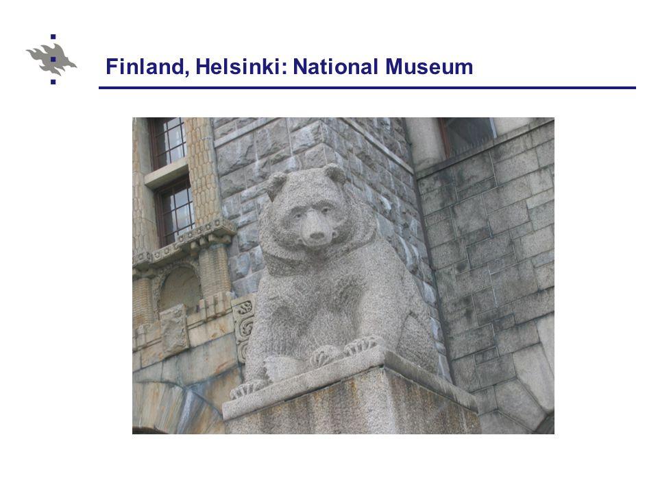 Finland, Helsinki: National Museum