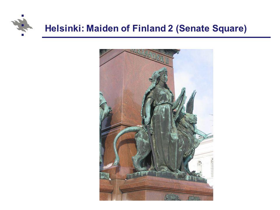 Helsinki: Maiden of Finland 2 (Senate Square)