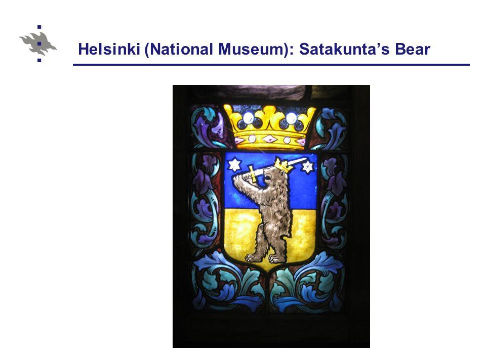Helsinki (National Museum): Satakunta's Bear