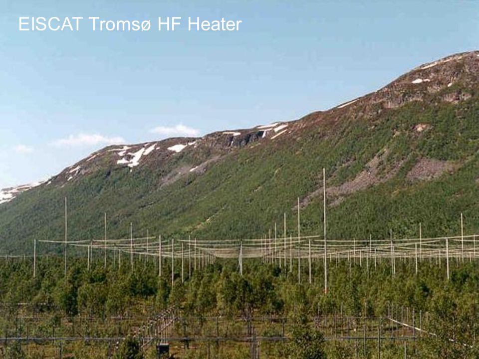 EISCAT Tromsø HF Heater