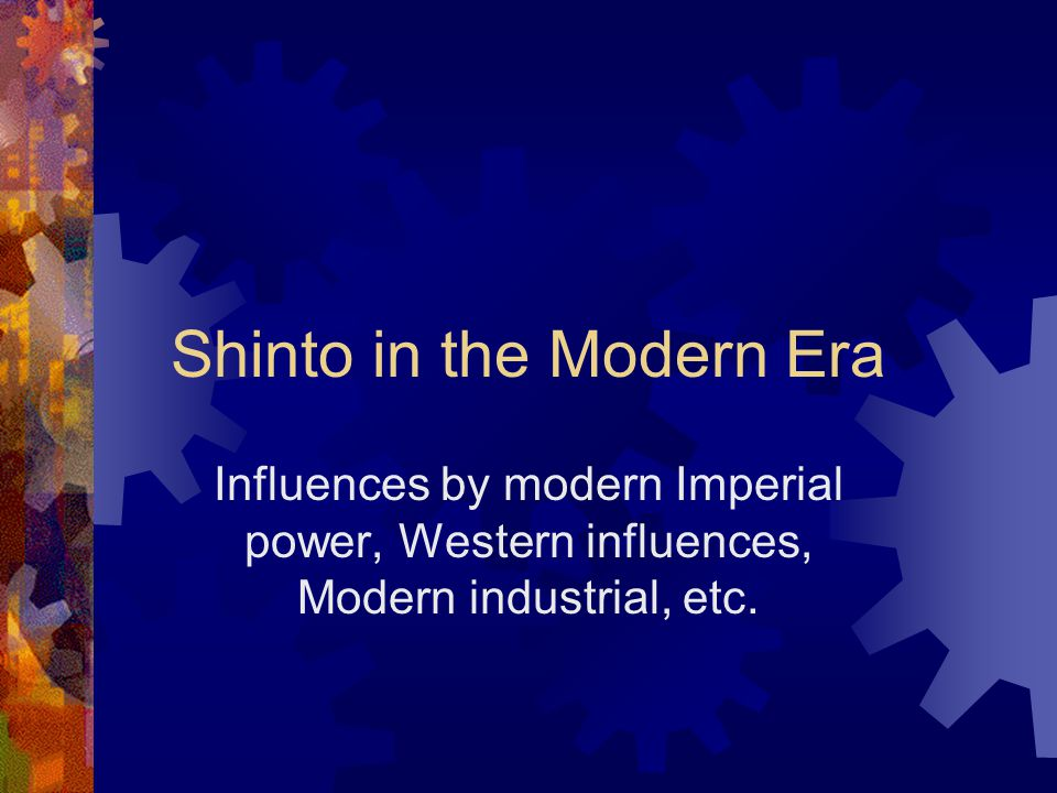 """Shinto Practices: Highlights  Ancestor worship has always been practiced  Most Japanese have a shrine in their homes, a kami-dana (""""god shelf"""") on w"""
