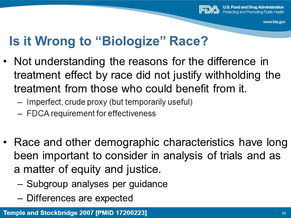 15 Is it Wrong to Biologize Race.