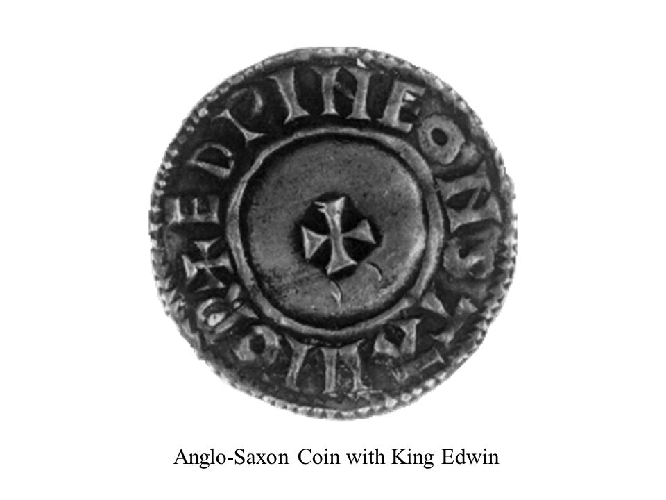 Anglo-Saxon Coin with King Edwin