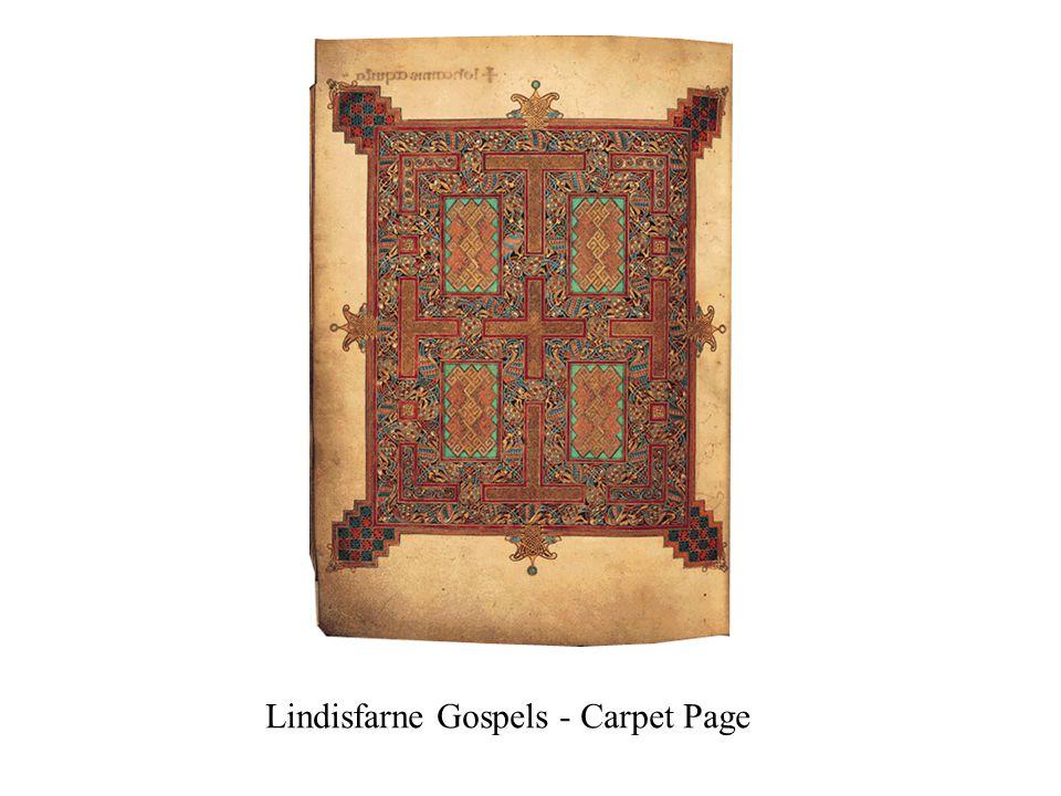 Lindisfarne Gospels - Carpet Page