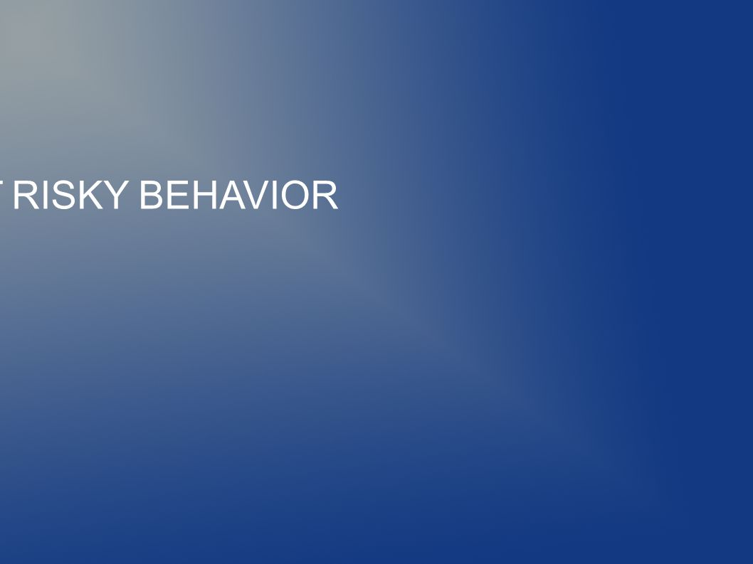 ADOLESCENT RISKY BEHAVIOR