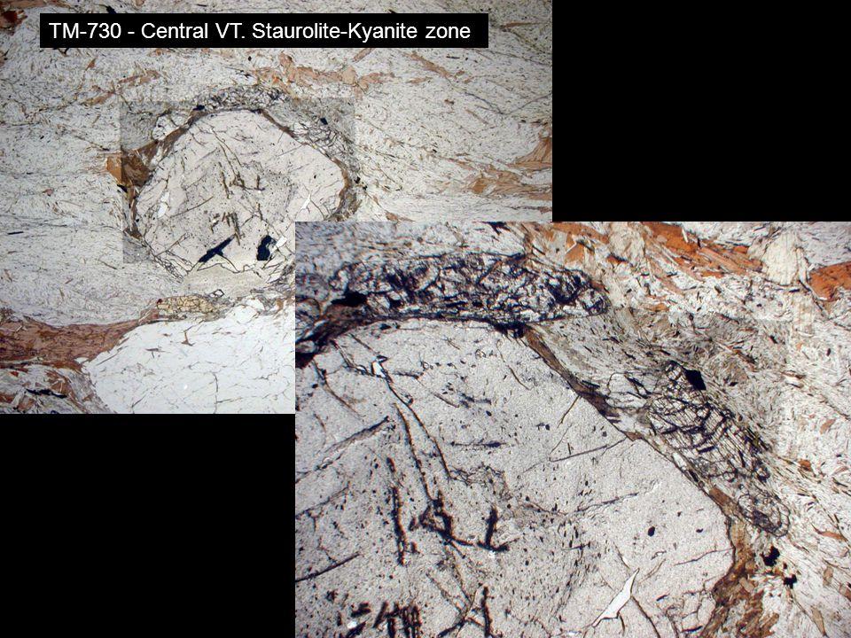 TM-730 - Central VT. Staurolite-Kyanite zone