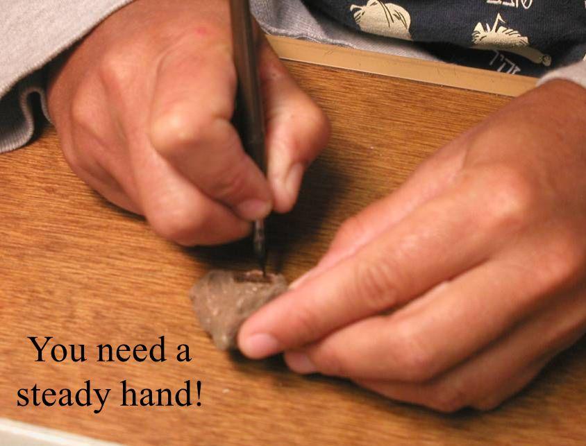 You need a steady hand!