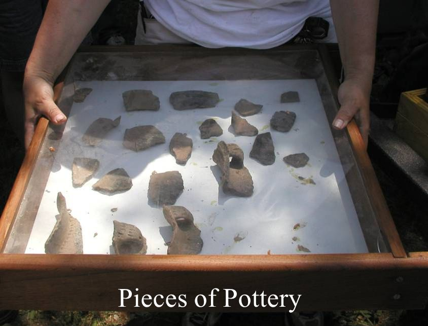 Pieces of Pottery