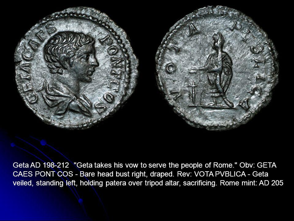 Geta AD 198-212