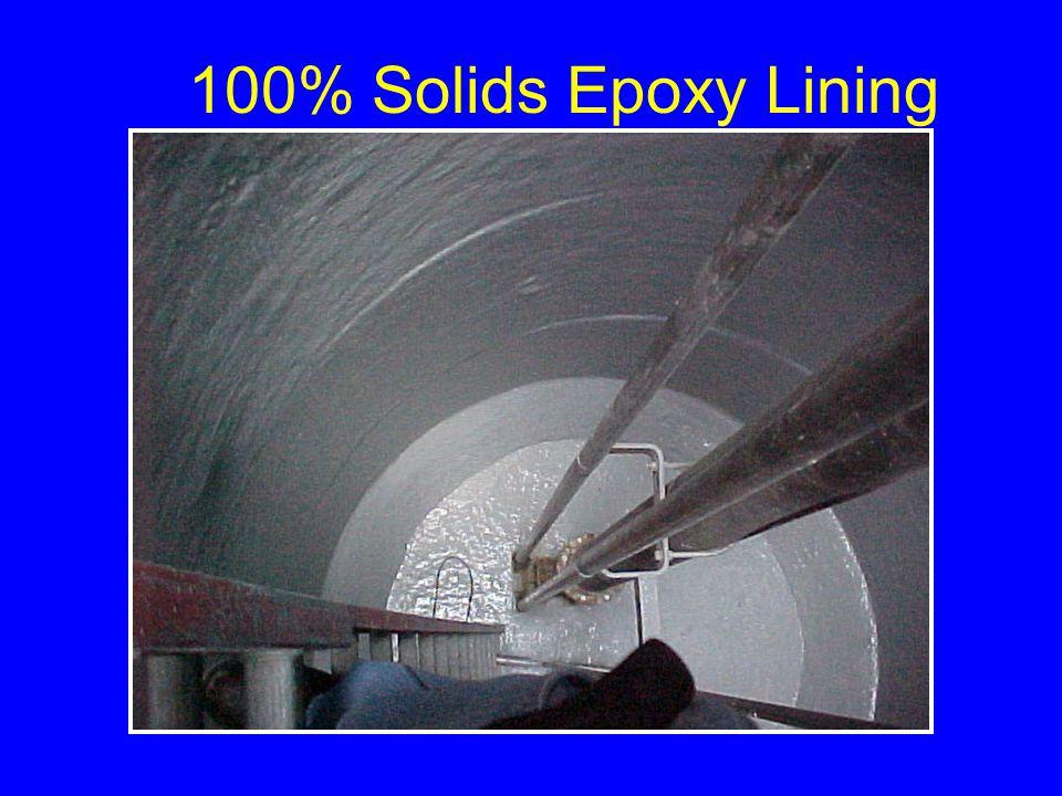 100% Solids Epoxy Lining