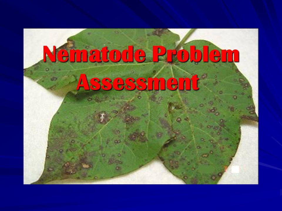 Nematode Problem Assessment Nematode Problem Assessment