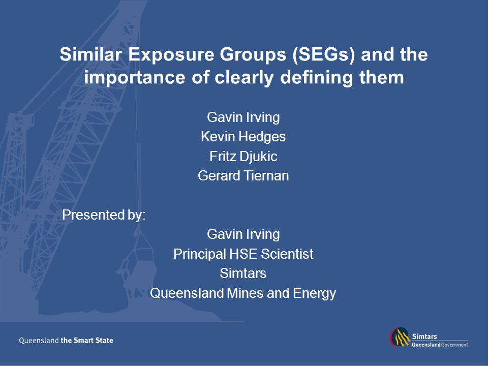 The Pitfalls Job rotation Assign to the dominate SEG Group in to higher level SEG.