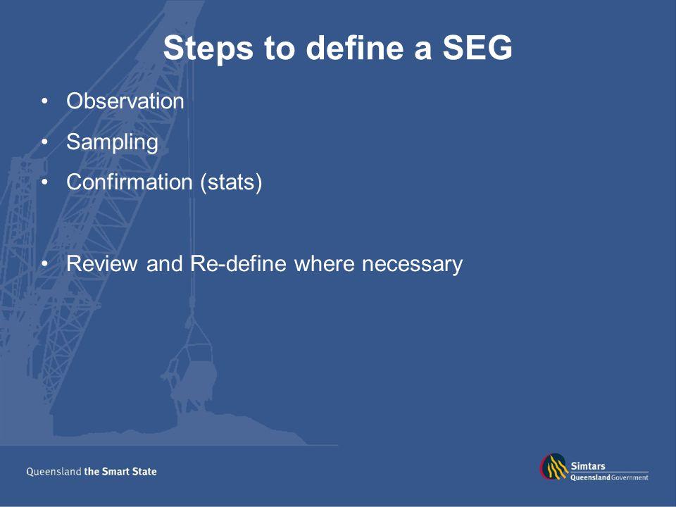 Diesel particulate (measured as EC) for SEG at selected metal mines in Queensland.