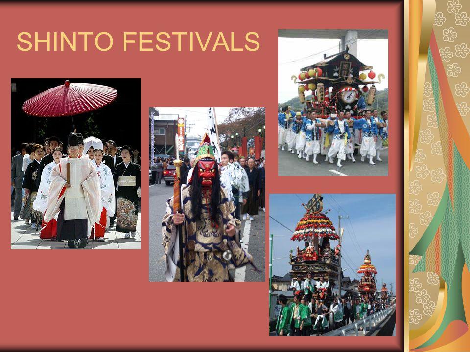 SHINTO FESTIVALS