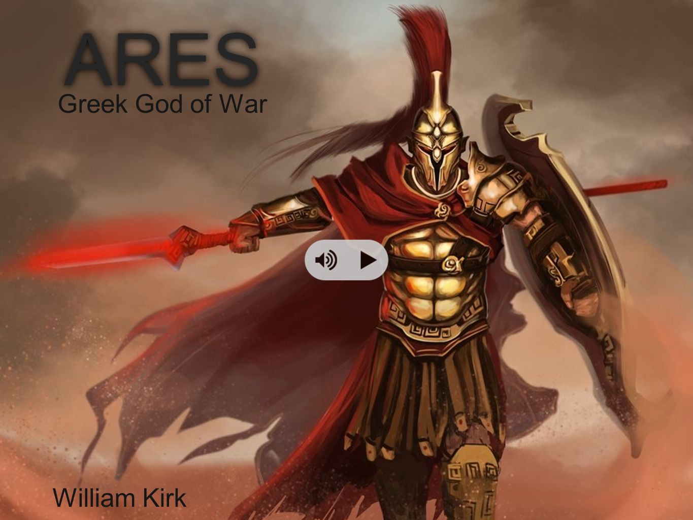 ARES Greek God of War William Kirk