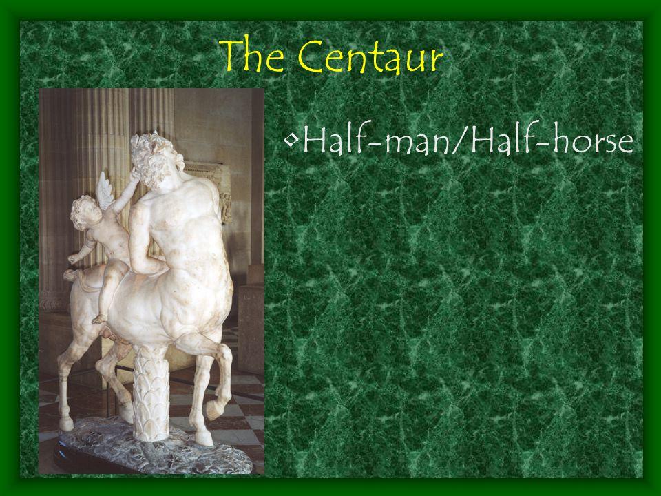 Half-man/Half-horse The Centaur