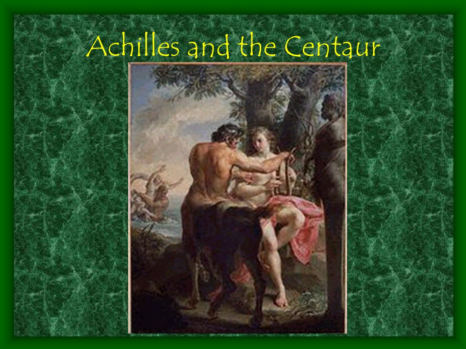 Achilles and the Centaur