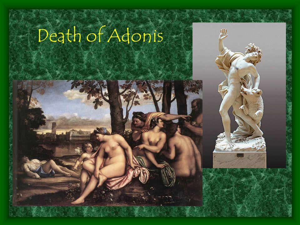 Death of Adonis