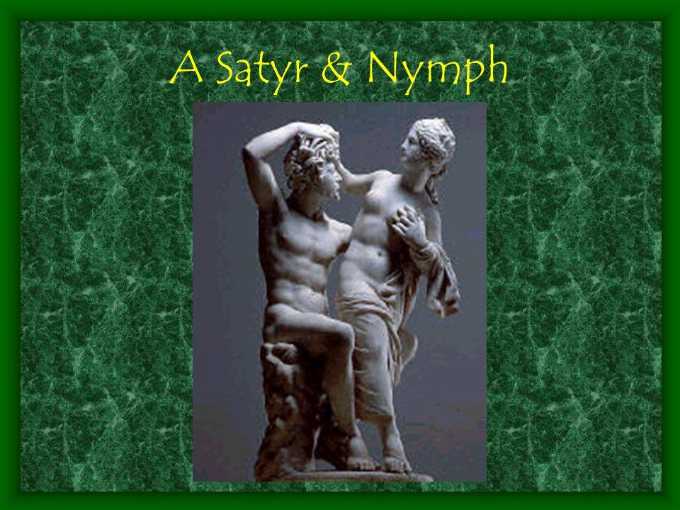 A Satyr & Nymph