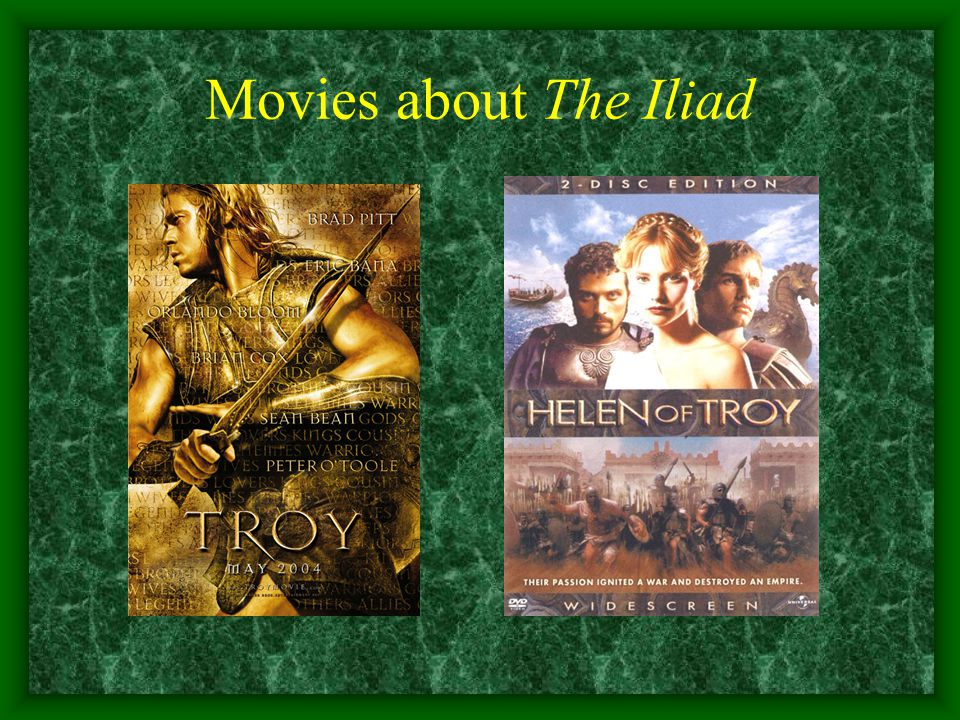 Movies about The Iliad
