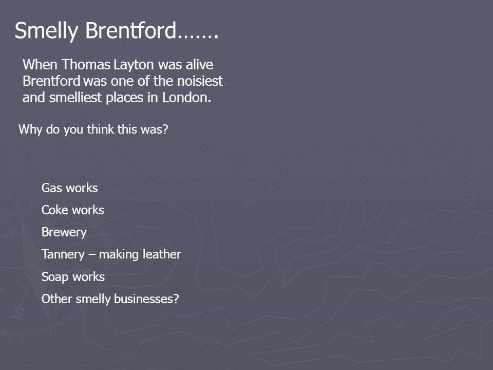 Smelly Brentford…….