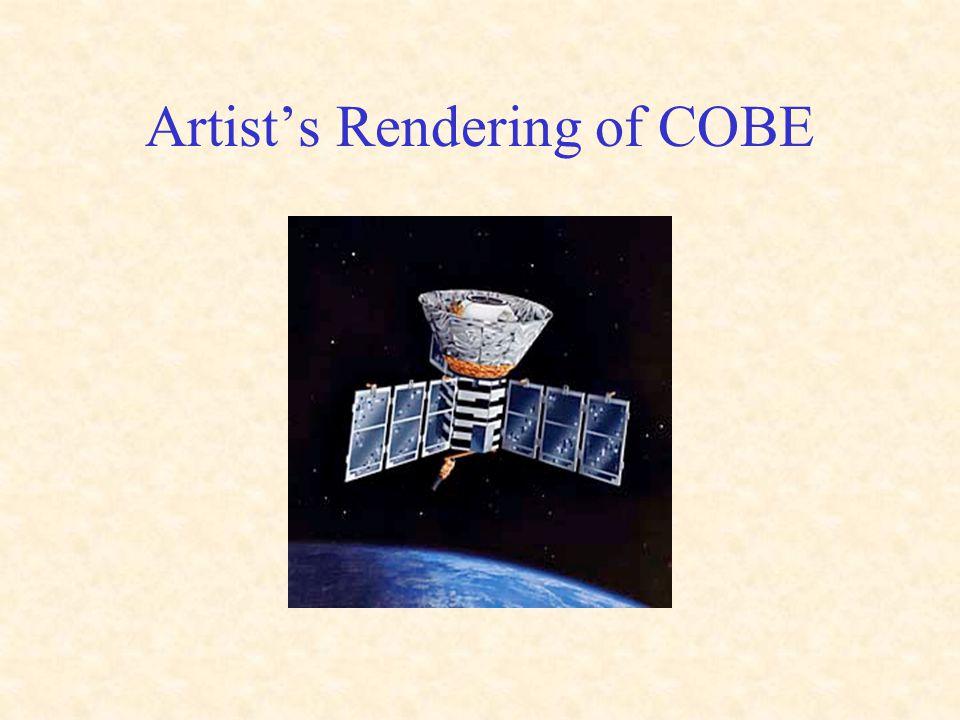 Artist's Rendering of COBE