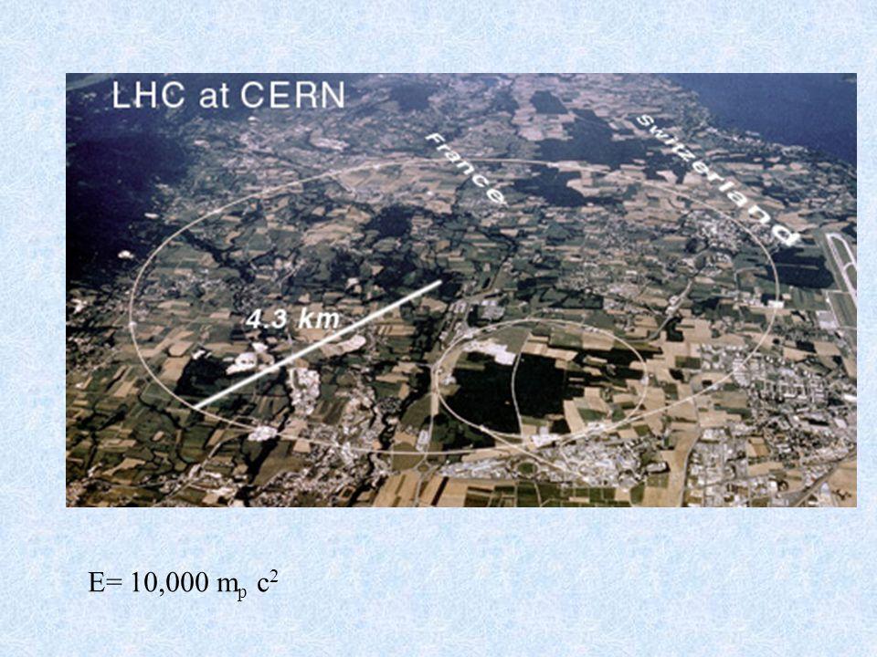 E= 10,000 m p c 2