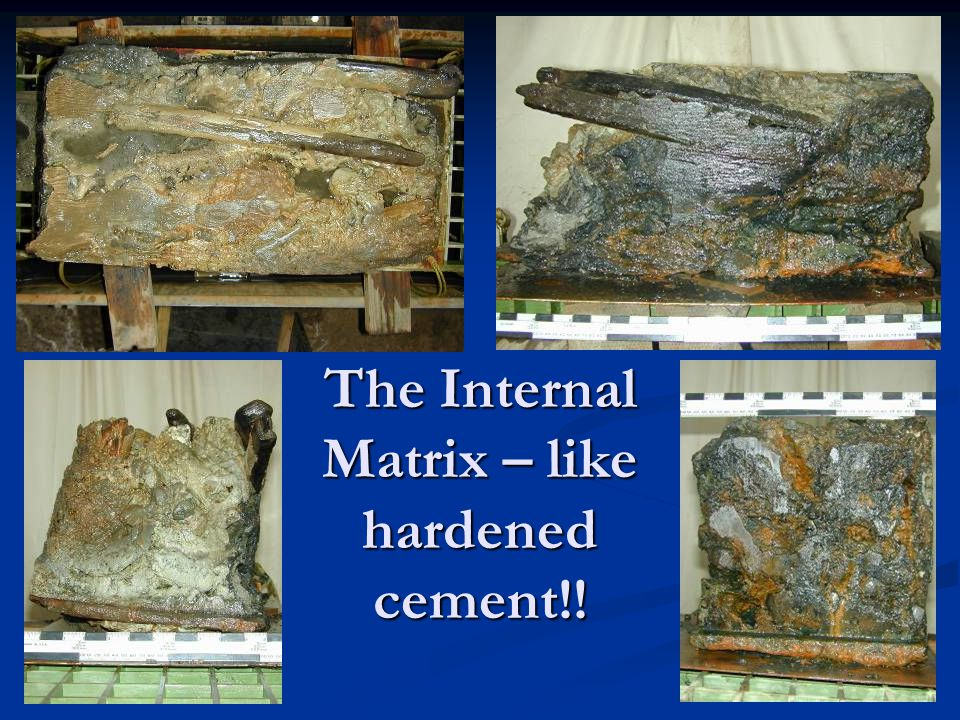 The Internal Matrix – like hardened cement!!