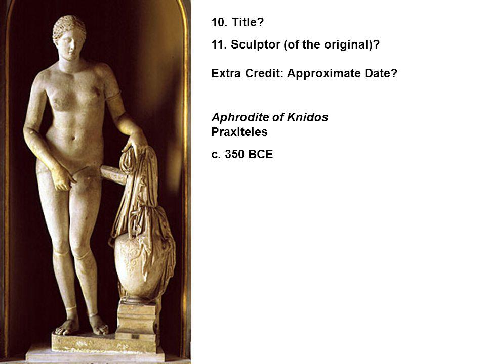 9. Title? Augustus of Primaporta