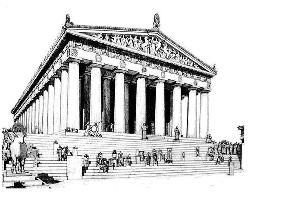 Kallikrates and Iktinos Parthenon, Acropolis, Athens 447-428 BCE